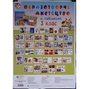 Таблиці. Образотворче мистецтво 3 клас. 34 сторінки. (70-48 см.) фото