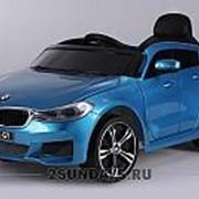 Детский электромобиль BARTY BMW 6 GT JJ2164 синий фото