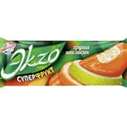 Эскимо EKZO ЭКЗО Суперфрукт груша и апельсин, 72г фото