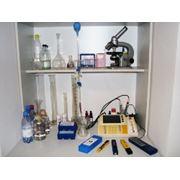 Химический анализ качества воды фото