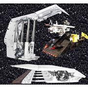 Работы по капитальному ремонту модернизации и изготовлению как отдельных узлов так и новых секций механизированных крепей для отработки угольных пластов. Заводами изготавливаются индивидуальные стойки как с внешним так и внутренним питанием. фото
