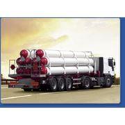 Заправка газовых баллонов Изготовлению передвижных автомобильных газовых заправщиков различной емкости фото