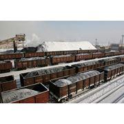 Поставки угля марки Б-3 Майкубенского бассейна для коммунально-бытовых нужд железнодорожным транспортом по Республике Казахстан а также самовывоз со склада в г. Павлодаре фото