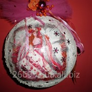 Мастерклассы для детей по ёлочным шарам - декупаж и декорирование фото