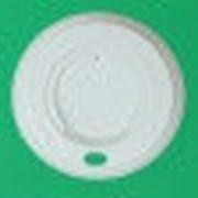 Крышка d.73мм с питейником для бумажных стаканов 180мл (100шт/упак) (1600шт/кор) фото