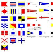 Флаги международного свода сигналов фото