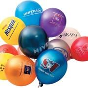 Рекламная печать на шарах. фото
