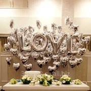 Украшение свадьбы воздушными шарами фото