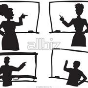 Проведение презентаций фото