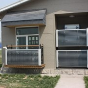 Солнечный высокоэффективный вакуумный коллектор (балконная серия) фото