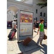 Размещение рекламы на сити-лайтах железнодорожных вокзалов фото
