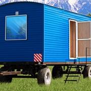 Вагон-дом (блок-контейнеры) Столовая на 24 посадочных места (из 2-х модулей) 8,0х5,6х2,8 фото