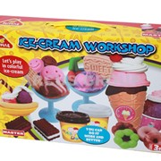 Пластилин-тесто Happy dough. Фабрика мороженного и сладостей фото