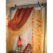 Карнизы и шторы фото