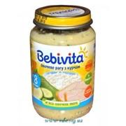 Пюре Bebivita 100г Овощное ассорти с цыпленком фото