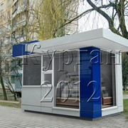 Изготовление торговых киосков, павильонов в Харькове фото