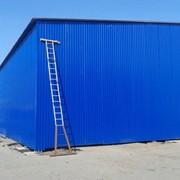 Строительство металлических ангаров и складских помещений фото