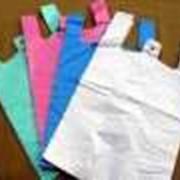 Пакет-майка, Полиэтиленовые пакеты, Полиэтиленовые цветные пакеты. фото