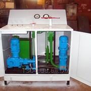 Установки насосные для гидроиспытаний оборудования УНИ-250, УНИ-400, УНИ-630, УНИ-1100 фото