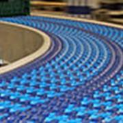 Лента транспортерная конвейерная модульная фото