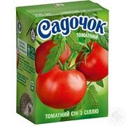 Сік Садочок томатний з сіллю 0.2л (9 штук) фото