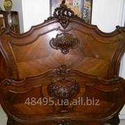 """Антикварная кровать.Стиль""""Генрих II"""". фото"""