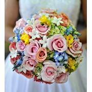 Букет свадебный 1 фото
