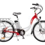 Электровелосипед ELTRECO White фото