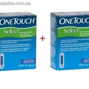 Ван Тач Селект OneTouch Select. 100 тест-полосок фото