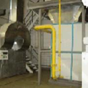 Линия сушки сухарей. Теплогенераторы серии АЭРТОН-..К - высокотемпературные газовые калориферы для сушки пищевых продуктов тепловой мощностью от 250 до 2500 кВт с температурой сушильного агента до 200 градусов С. фото