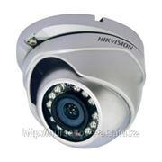 Купольная цветная вандалозащищенная камера 500ТВЛ с ИК-подсветкой фото