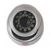 Цветная полусферическая камера с ИК-подсветкой фото