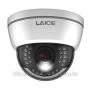Цветная купольная видеокамера высокого разрешения 600ТВЛ с ИК-подсветкой до 30м. фото
