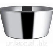 Миска для собак сталь нержавеющая 21 см 1,6 л. фото