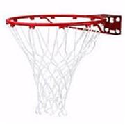 Баскетбольное кольцо Spalding Standart (красное) Арт.7811SCNR фото