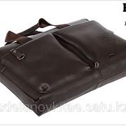 Мужской кожаный портфель Polo videng М-04 фото