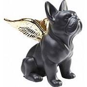 Статуэтка Angel Dog, коллекция Собака-Ангел 12х22х21см. арт.38719 KARE фото