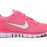 Кроссовки женские Nike Free 3.0 V2 Pink/White 37 фото