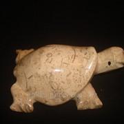 Статуэтка Черепаха из яшми (11.5 см.) фото
