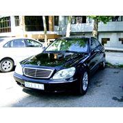 Аренда прокат автомобилей бизнес класса Mercedes Benz S320 W220 фото