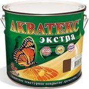 Акватекс Экстра цвет:ДУБ, защитно-декоративный состав для дерева, колерованный фото