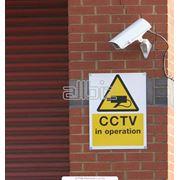 Установка видеонаблюденияпожарной-охранной сигнализации фото
