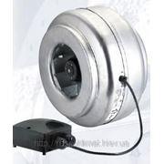 Круглый канальный вентилятор VENT-125B фото