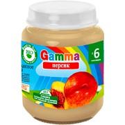 Пюре персиковое детское Gamma BIO фото