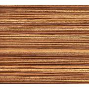Древесный массив Зебрано фото