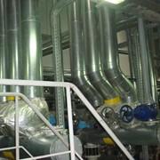 Термоизоляция трубопроводов и емкостей на заводе по перегрузке и переработке тропических масел. материалы - базальтовые цилиндры АНТАЛ-ПАЙП тм и Алюминий фото