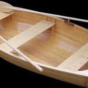 Лодки деревянные двухместные фото