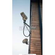 Монтаж и установка системы видеонаблюдения фото