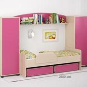 Детская комната Легенда 20 венге светлый/розовый фото