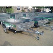 Прицеп для легкового автомобиля TIKI-TREILER С275 L для перевозки объёмных грузов фото